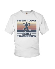 Vintage Sweat Today Smile Tomorrow Shirt Youth T-Shirt thumbnail