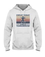 Vintage Sweat Today Smile Tomorrow Shirt Hooded Sweatshirt thumbnail