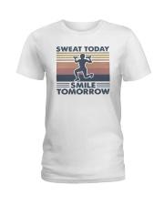 Vintage Sweat Today Smile Tomorrow Shirt Ladies T-Shirt thumbnail