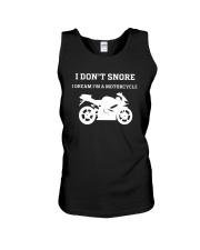 I Don't Snore I Dream I'm A Motorcycle Shirt Unisex Tank thumbnail