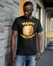Joe Biden Happy Christmas Shirt Classic T-Shirt apparel-classic-tshirt-lifestyle-front-41-b