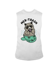 Mermaid Raccoon Mer Trash Shirt Sleeveless Tee thumbnail