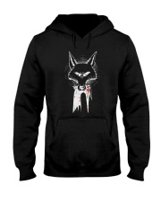 Wolf Retribution Shirt Hooded Sweatshirt thumbnail