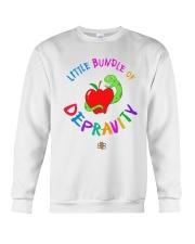 Little Bundle Of Depravity Shirt Crewneck Sweatshirt thumbnail