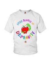 Little Bundle Of Depravity Shirt Youth T-Shirt thumbnail