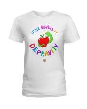 Little Bundle Of Depravity Shirt Ladies T-Shirt thumbnail