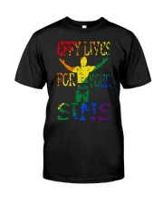 Drklght Effy Lives For Your Sins Shirt Classic T-Shirt front