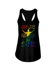 Drklght Effy Lives For Your Sins Shirt Ladies Flowy Tank thumbnail