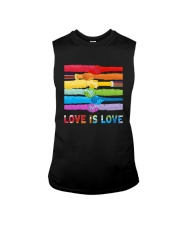Color Handshake Love Is Love Shirt Sleeveless Tee thumbnail