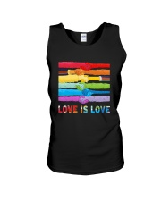 Color Handshake Love Is Love Shirt Unisex Tank thumbnail