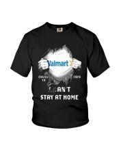 Walmart Covid 19 2020 I Can't Stay At Home Shirt Youth T-Shirt thumbnail