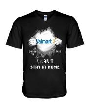 Walmart Covid 19 2020 I Can't Stay At Home Shirt V-Neck T-Shirt thumbnail