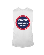 Trump Lies While America Dies Shirt Sleeveless Tee thumbnail