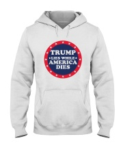 Trump Lies While America Dies Shirt Hooded Sweatshirt thumbnail