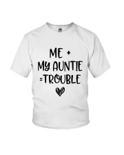 Me My Auntie Trouble Shirt Youth T-Shirt thumbnail