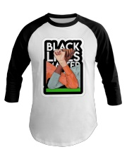 Black Lives Matter Shirt Baseball Tee thumbnail