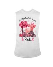 Pig In October We Wear Pink Shirt Sleeveless Tee thumbnail