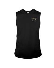 American Flag Sunflower Faith Shirt Sleeveless Tee thumbnail