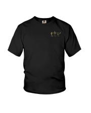 American Flag Sunflower Faith Shirt Youth T-Shirt thumbnail