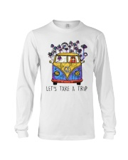 Hippie Girl Lets Take A Trip Shirt Long Sleeve Tee tile