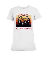 Vintage Trust Us Led Zeppelin We Are Legend Shirt Premium Fit Ladies Tee thumbnail