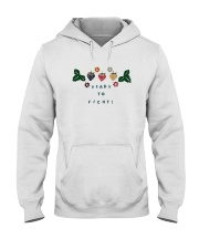 Ready To Fight Shirt Hooded Sweatshirt thumbnail