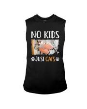 No Kids Just Cats Shirt Sleeveless Tee thumbnail