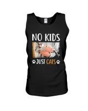No Kids Just Cats Shirt Unisex Tank thumbnail
