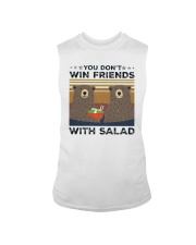 Vintage Bear You Dont Win Friends Salad Shirt Sleeveless Tee thumbnail