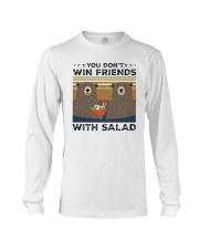 Vintage Bear You Dont Win Friends Salad Shirt Long Sleeve Tee thumbnail