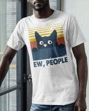 Vintage Cat Ew People Shirt Classic T-Shirt apparel-classic-tshirt-lifestyle-front-39