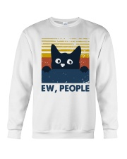 Vintage Cat Ew People Shirt Crewneck Sweatshirt thumbnail