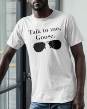 Glasses Talk To Me Goose Shirt Classic T-Shirt apparel-classic-tshirt-lifestyle-front-39