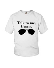 Glasses Talk To Me Goose Shirt Youth T-Shirt thumbnail