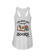I Will Never Own Enough Books Shirt Ladies Flowy Tank thumbnail