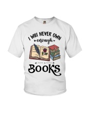 I Will Never Own Enough Books Shirt Youth T-Shirt thumbnail