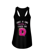 Just A Girl Who Loves The Donuts Shirt Ladies Flowy Tank thumbnail