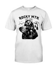 Bear Rocky Mtn Natl Park Shirt Classic T-Shirt front