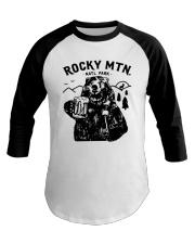 Bear Rocky Mtn Natl Park Shirt Baseball Tee thumbnail