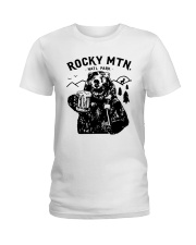 Bear Rocky Mtn Natl Park Shirt Ladies T-Shirt thumbnail