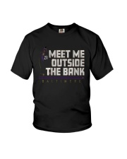 Mark Ingram Meet Me Outside The Bank Shirt Youth T-Shirt thumbnail