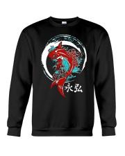 Koi Circle Japanese Shirt Crewneck Sweatshirt thumbnail