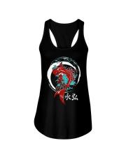 Koi Circle Japanese Shirt Ladies Flowy Tank thumbnail
