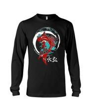 Koi Circle Japanese Shirt Long Sleeve Tee thumbnail