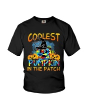 Autism Coolest Pumpkin In The Patch Shirt Youth T-Shirt thumbnail