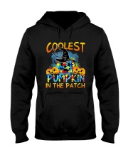 Autism Coolest Pumpkin In The Patch Shirt Hooded Sweatshirt thumbnail
