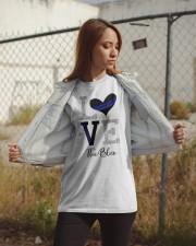 Love The Blue Shirt Classic T-Shirt apparel-classic-tshirt-lifestyle-07
