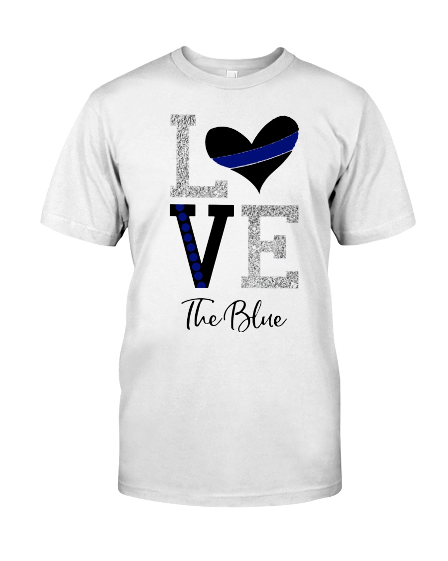 Love The Blue Shirt Classic T-Shirt