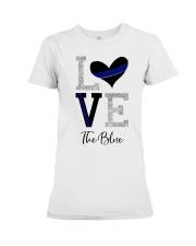 Love The Blue Shirt Premium Fit Ladies Tee thumbnail