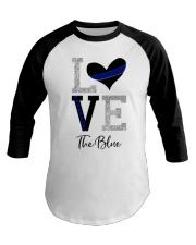 Love The Blue Shirt Baseball Tee thumbnail